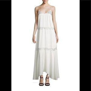 Theory walela maxi lace dress